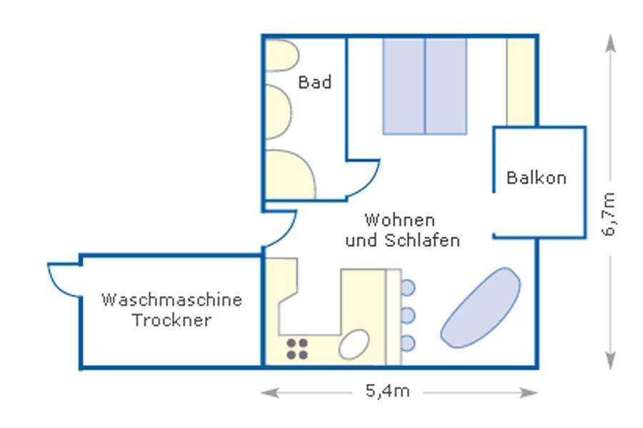 Wohnung Encore 2 in Büsum an der Nordsee